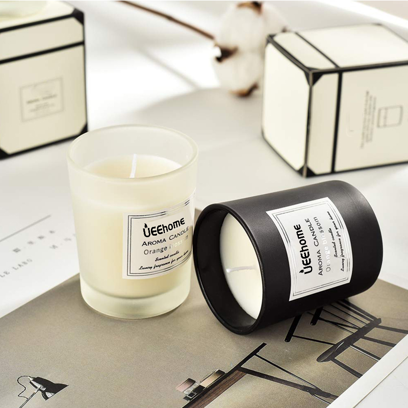 Personalised Scented Aromatherapy Soy Wax Candles