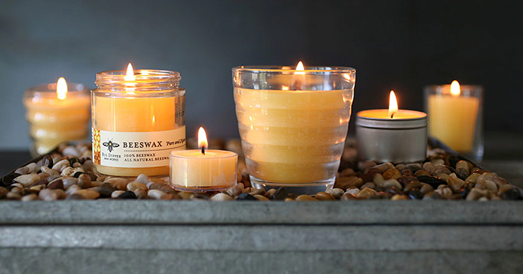 pure beeswax candles, organic beeswax candles