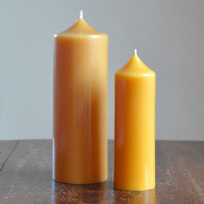 Organic beeswax candles, Pure beeswax candles