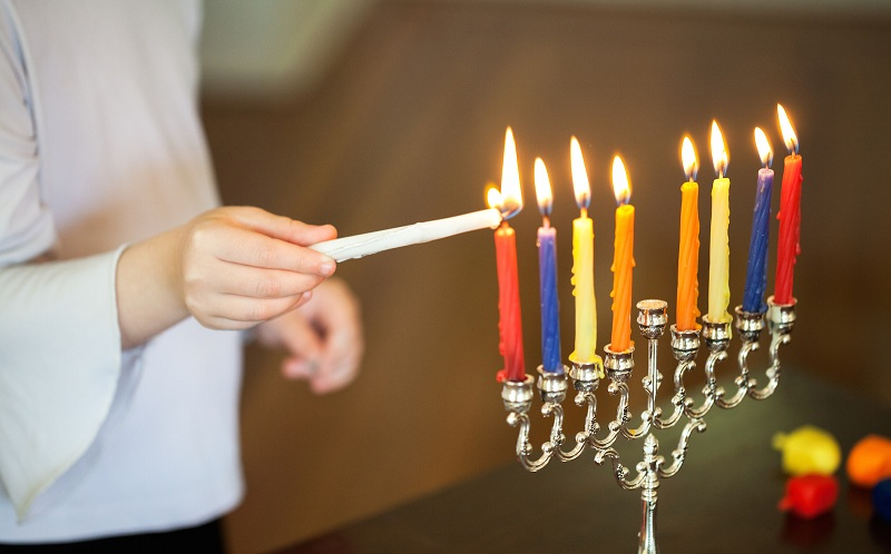 Chanukah menorah candles, Hanukkah candles