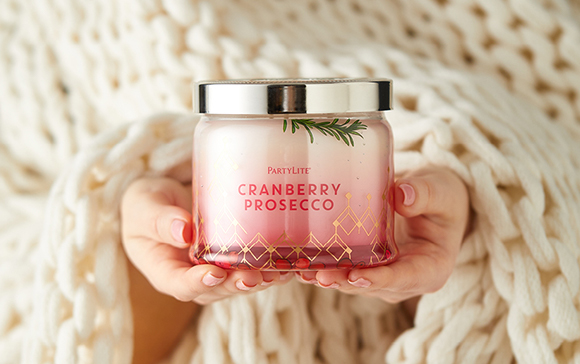 scented candles in glass jars