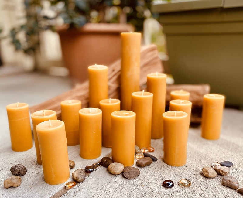 organic beeswax candles, natural beeswax candle, pure beeswax candles, beeswax candles homemade