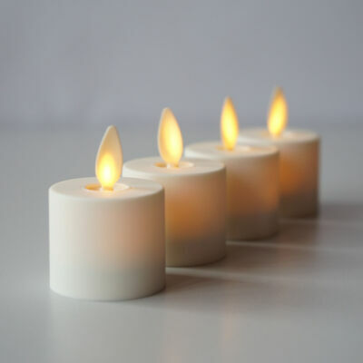 LED battery operated candles, LED flameless candles with timer