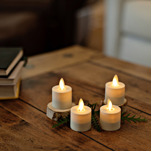 led battery flameless tealight candles, Electric led flameless tealight candles, battery operated tealight candles