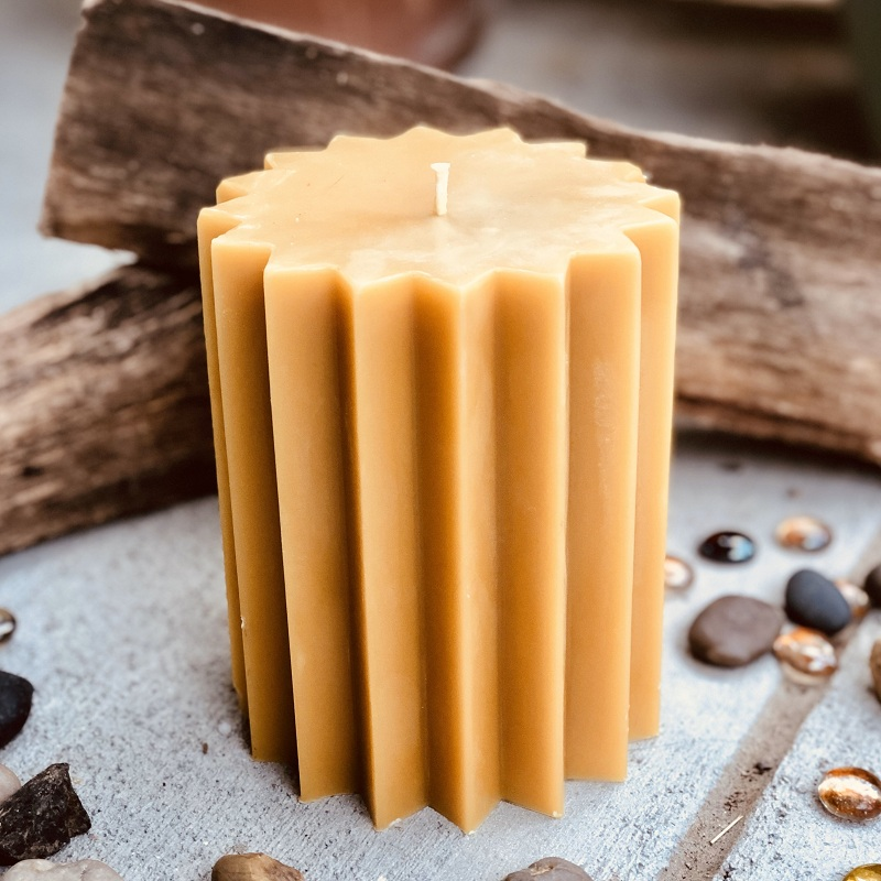 natural beeswax candles, organic beeswax candles, pure beeswax candles homemade manufacturer
