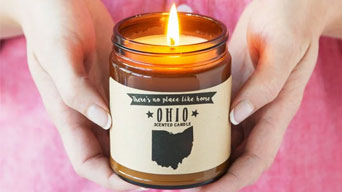New Style Scented Candles: State Scented Candles