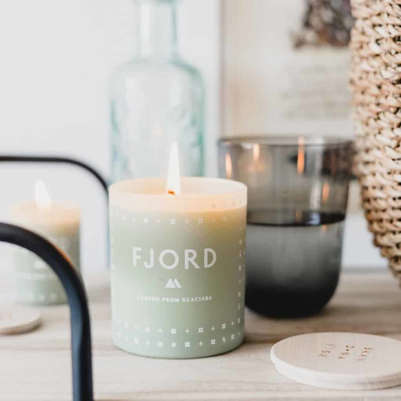 Custom Luxury Fragrance FJORD Scented Candles