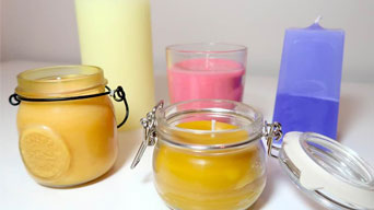 Method For Making A Scented Candle