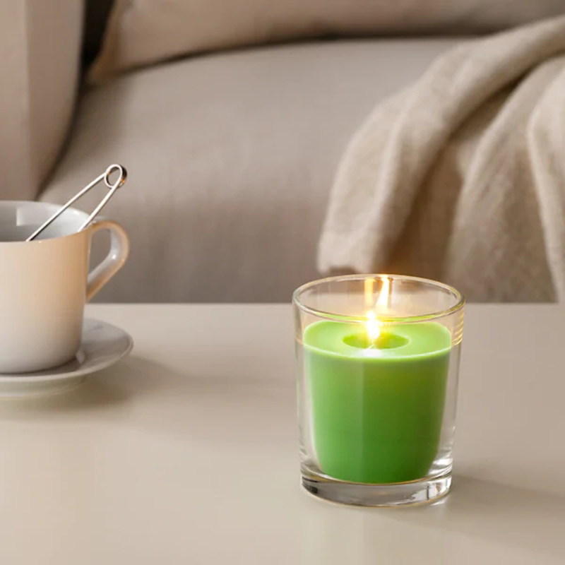 Fruity Scented Candles in Glass