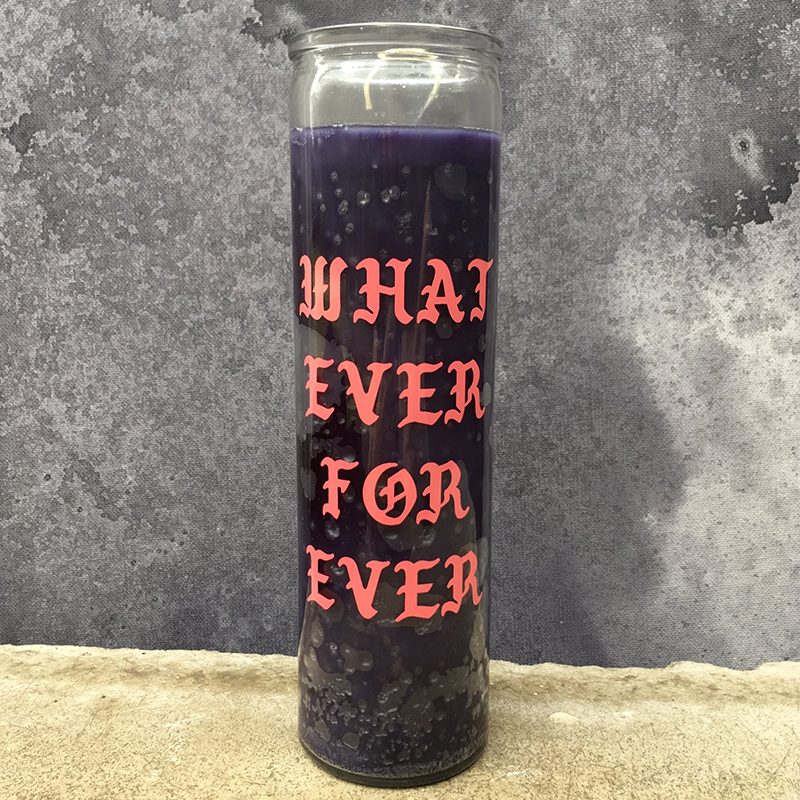 Whatever forever Candle 7 day glass prayer candles wholesale