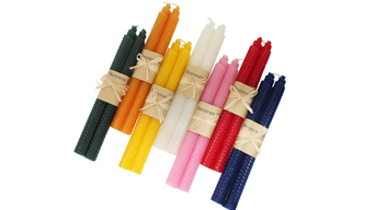How to Add Color to Beeswax Candles?