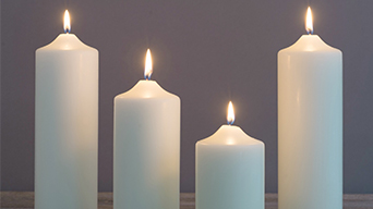 4 Ways You're Burning Church Pillar Candles All Wrong
