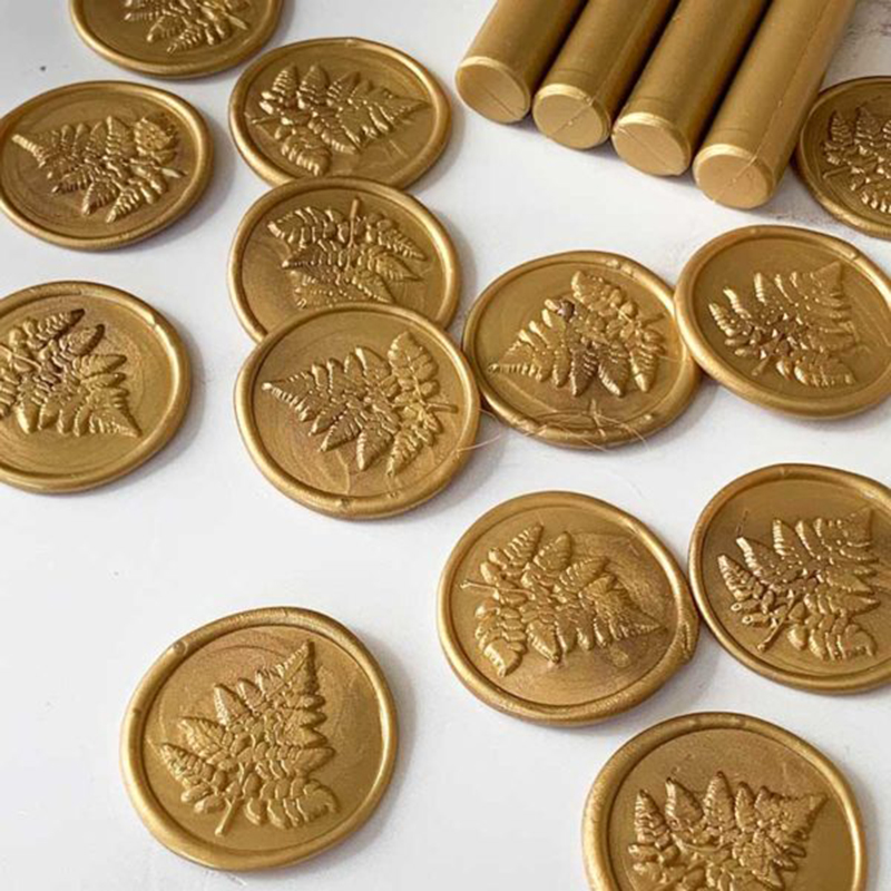 Gold Sealing Wax Sticks