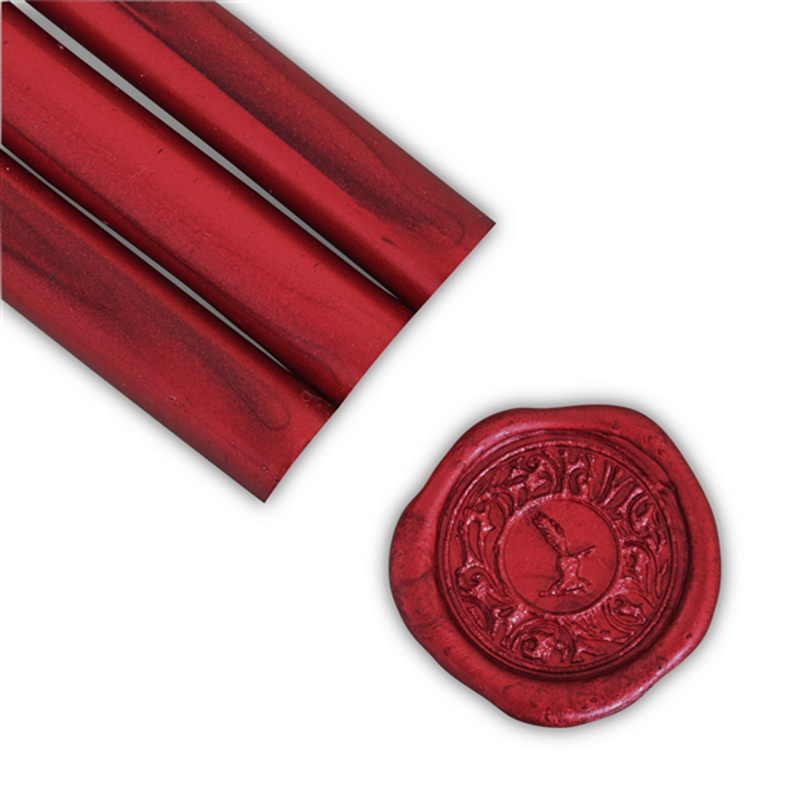 Crimson Red Pearl Glue Gun Sealing Wax