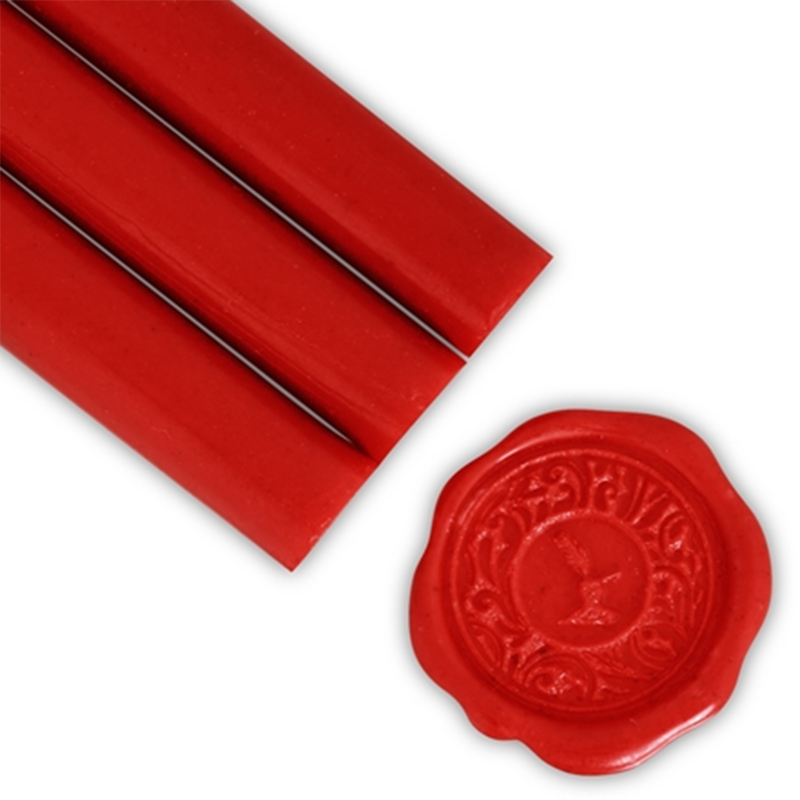 Glue Gun Sealing Wax-Fire Engine Red