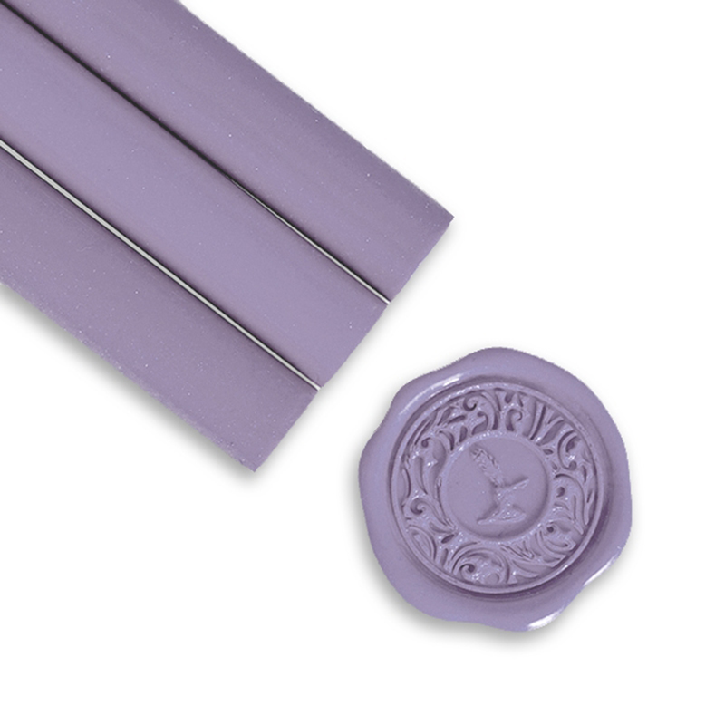 Smokey Lavendar Glue Gun Sealing Wax
