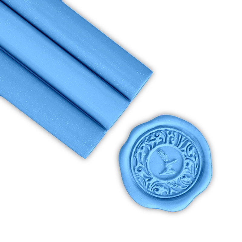French Blue Glue Gun Sealing Wax