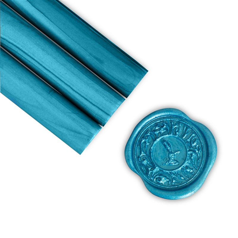 Electric Blue Glue Gun Sealing Wax