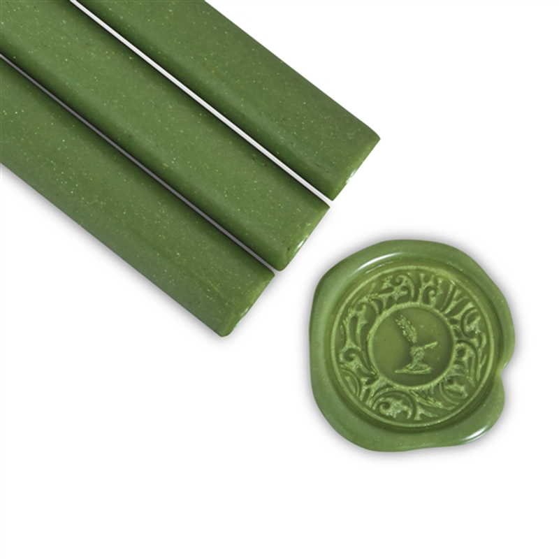 Olive Green Glue Gun Letter Sealing Wax