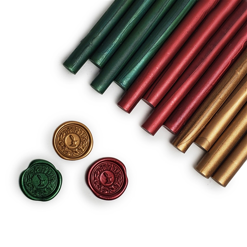 Glue Gun Sealing Wax 12PK-Christmas Assortment Saver Pack