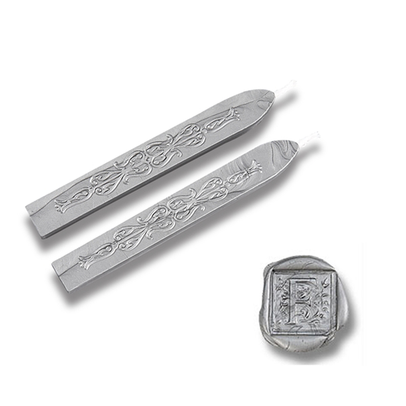 Silver Flexible Sealing Wax-Pack of 2 sticks