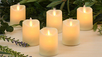 Decorative flameless candles