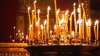 Our orthodox church beeswax candles are priced by the candle