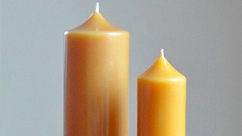 The benefit of organic beeswax candles