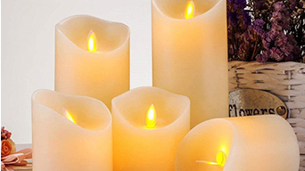 Getting married in the great outdoors need outdoor led flameless candles
