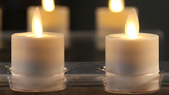 The led tealight candles are beautiful for your home decor