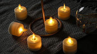 How do you feel the moving wick flameless battery operated tealight candle?