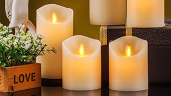 The features of color changing flameless candles with remote