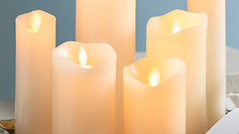 The features of battery operated candles with remote control