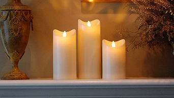 These are very nice outdoor battery operated candles