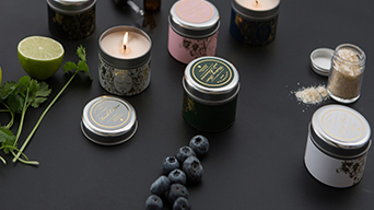 Why we use soy wax to produce personalised tin box candles?