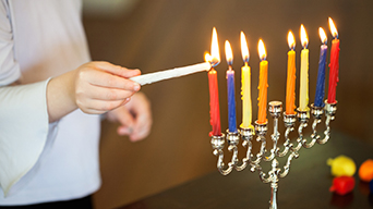 How many Hanukkah candles for Hanukkah?