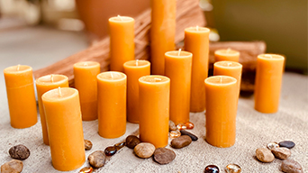 Beeswax Candle Instructions