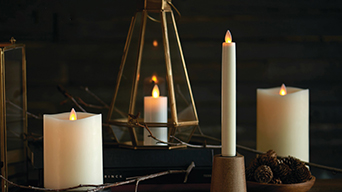 FAQs about Luminara moving wick flameless candles