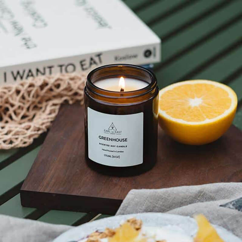 Greenhouse Scented Luxury Fragrance Candles Wholesale