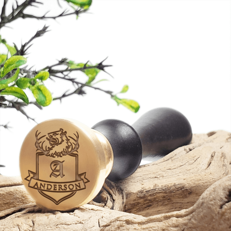 Family Crests Clan Badges Shields Wax Seal Stamps