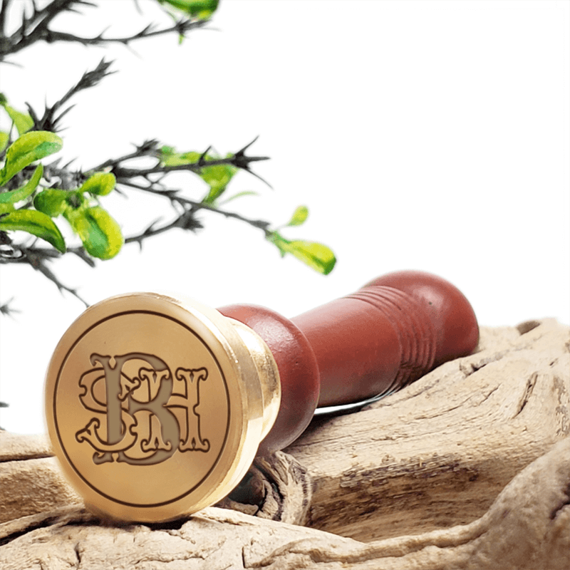 3-Letter Monograms Wax Seal Stamps