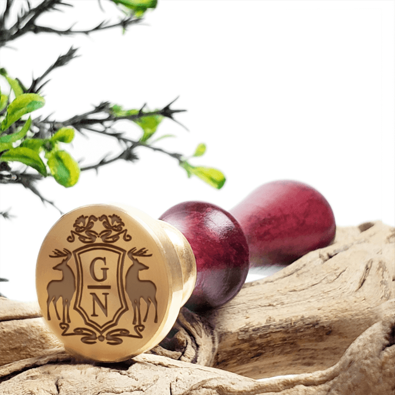 2-Letter Monograms Wax Seal Stamps