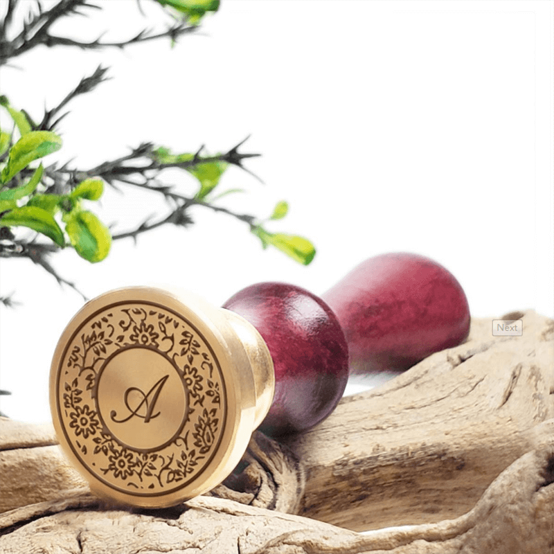 Ornate Specialty Initials Wax Seal Stamps