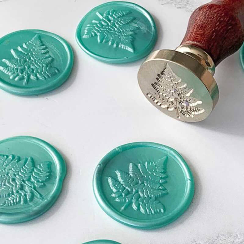 Fern Wax Seal Stamp