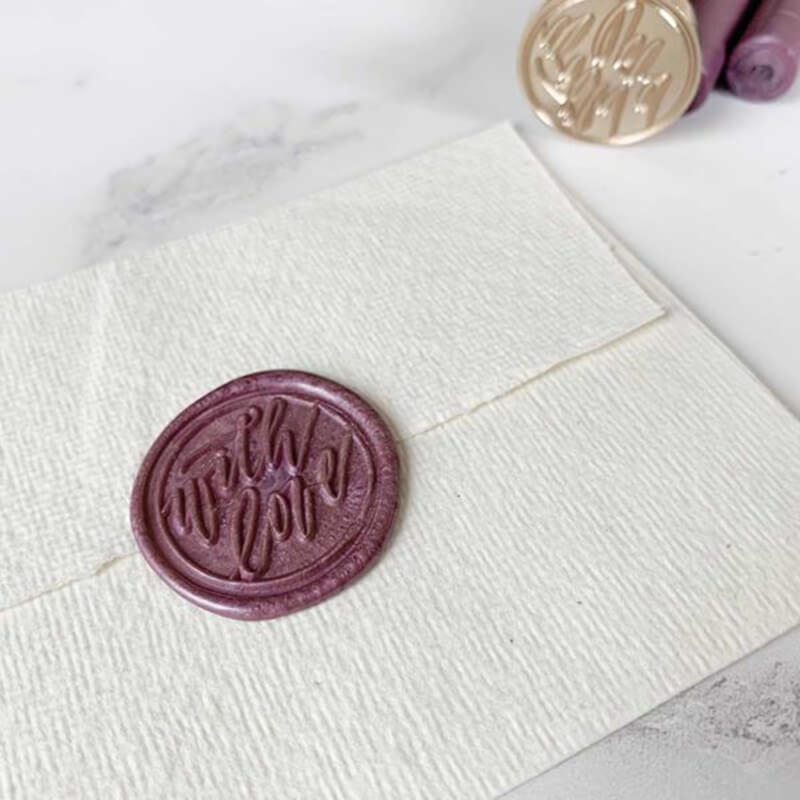 With Love Wax Seal Stamp