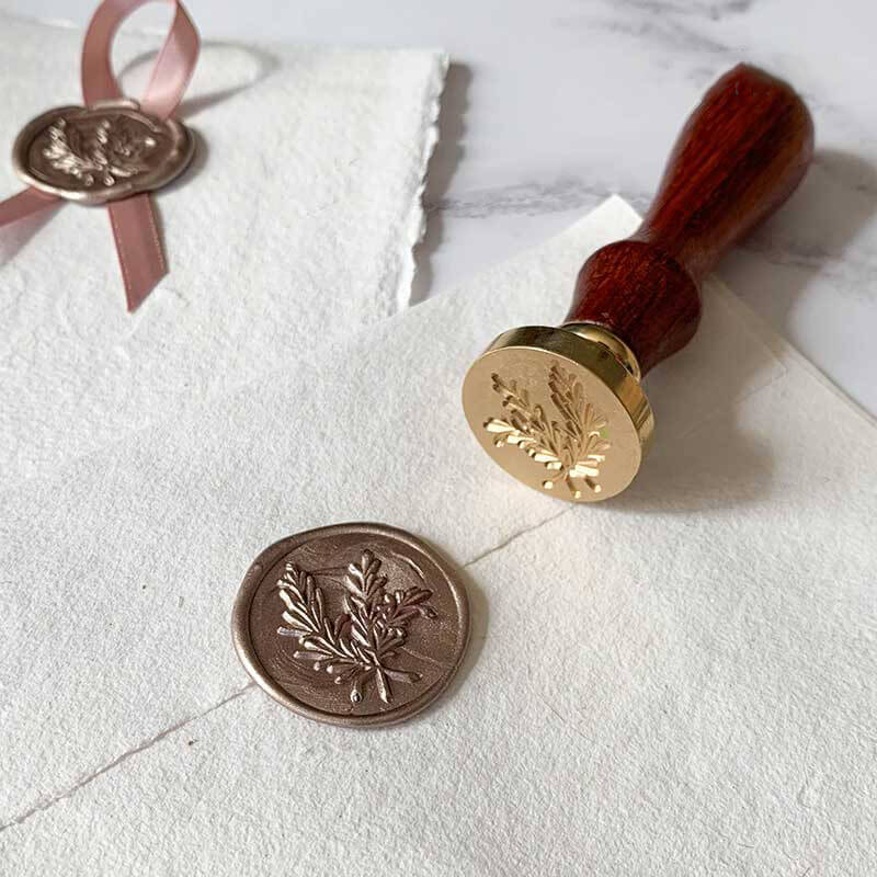 Olive Branch Wax Seal Stamp