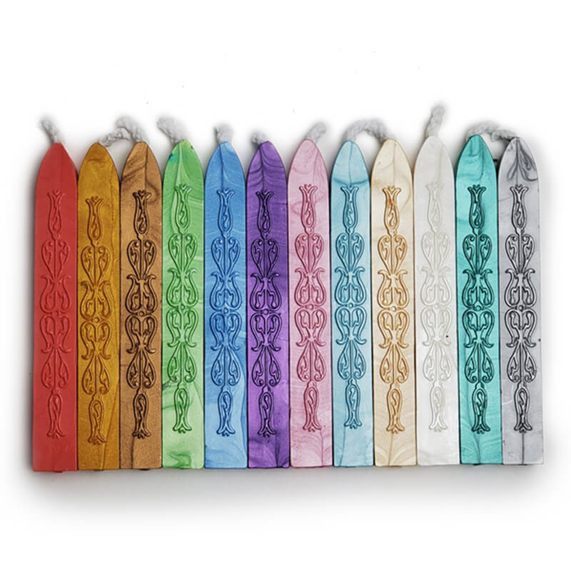 Sealing Wax Assorted 12Pc Saver Pack- Spring - Flexible & Mailable