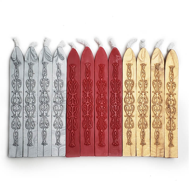Sealing Wax Assorted 12Pc Saver Pack- Bestsellers - Flexible & Mailable