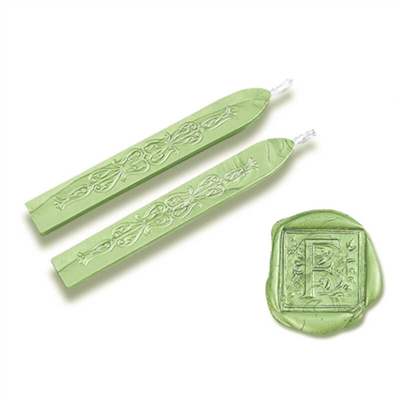 Light Green Flexible Sealing Wax-Pack of 2 sticks