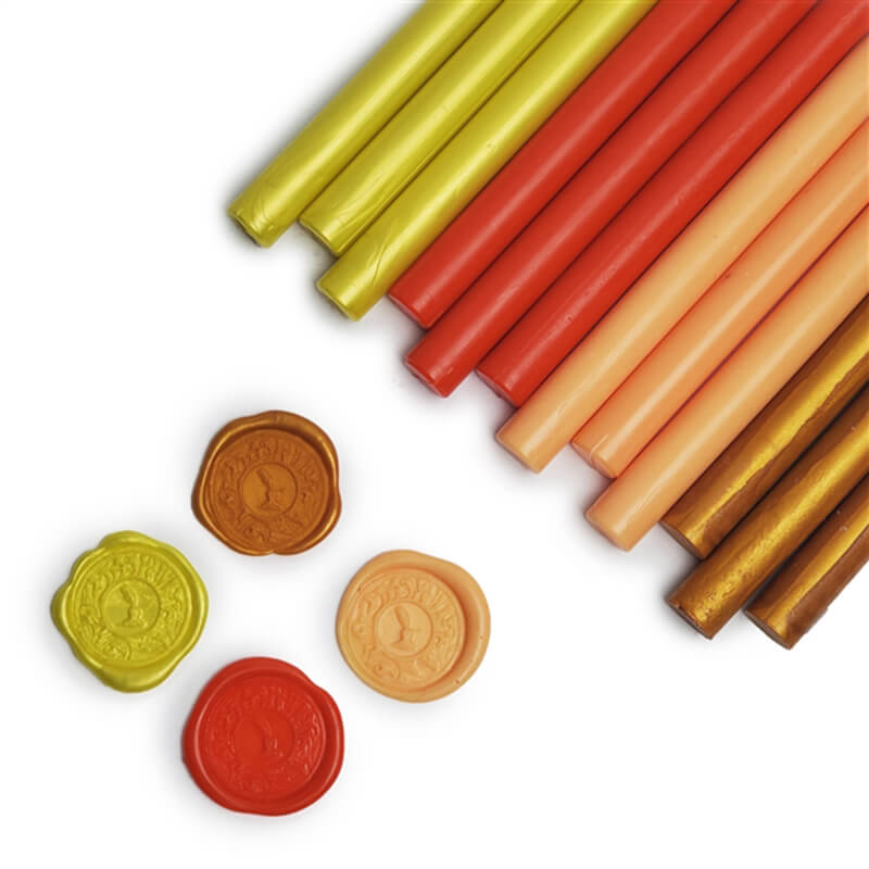Glue Gun Sealing Wax 12PK-Sunrise/Sunset Assortment Saver Pack
